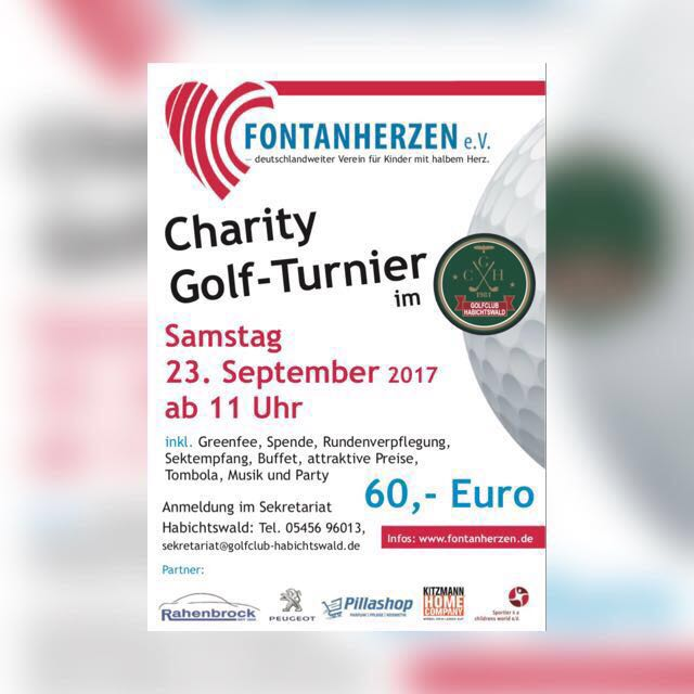 Charity Golf-Tunier