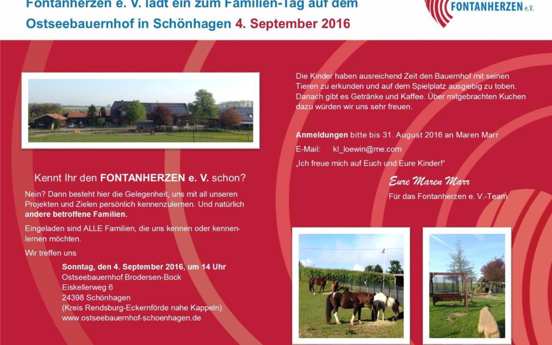 Herztreffen, Familientag, Ostseebauernhof, Schönhagen
