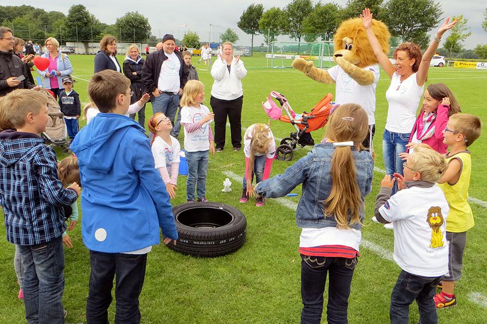 Vereins-Event in Rheda-Wiedenbrück (Nordrhein-Westfalen) – denn kleine und große schöne Erlebnisse sind wichtig für Kinder mit halbem Herz und auch ihre Geschwister! Mehr unter Menüpunkt GEMEINSCHAFT/Bilderarchiv