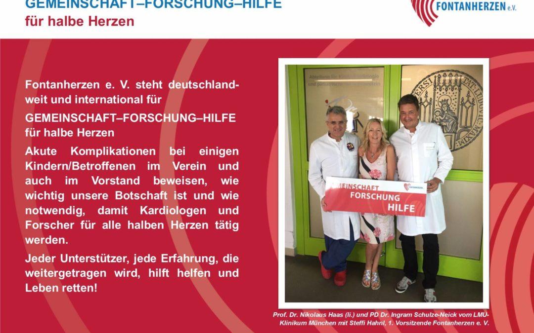 Prof. Dr. Nikolaus Haas (li.) und PD Dr. Ingram Schulze-Neick vom LMU-Klinikum München